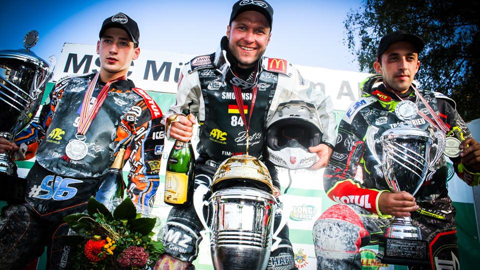 Martin Smolinski ist Langbahn-Weltmeister