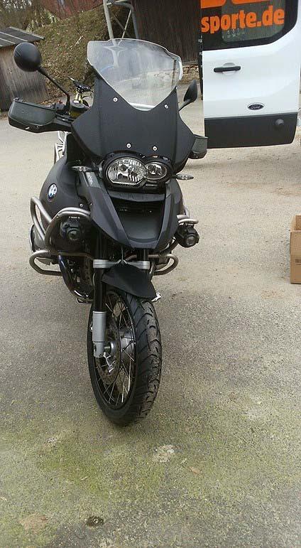 Motorradtransport BMW 1200 GS Adventure