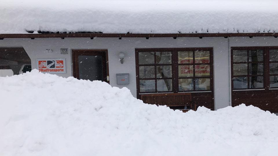 Schnee im Überfluss