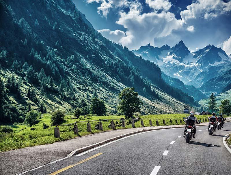 Traumhafte Routen in Österreich